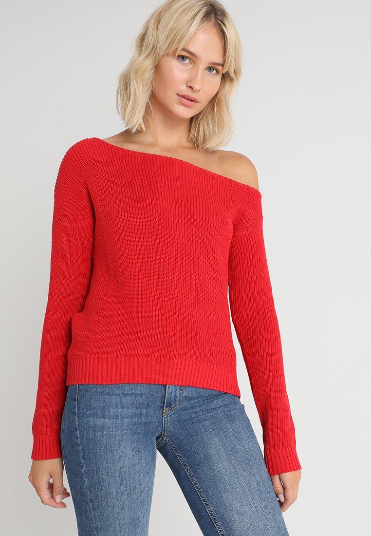 Even&Odd - Strickpullover - red