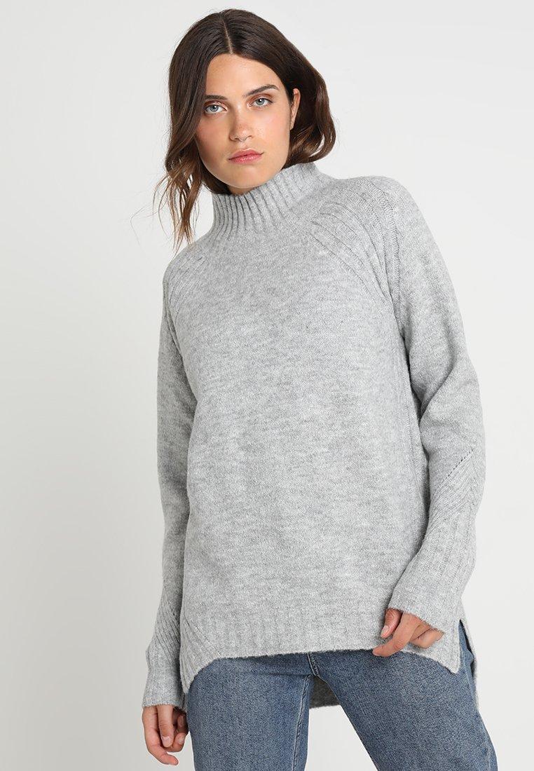Even&Odd Pullover mottled grey