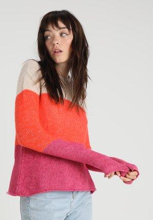 Jersey de punto - apricot/coral