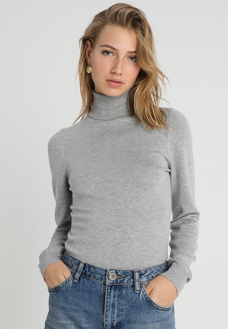 Even&Odd - Jumper - mottled grey