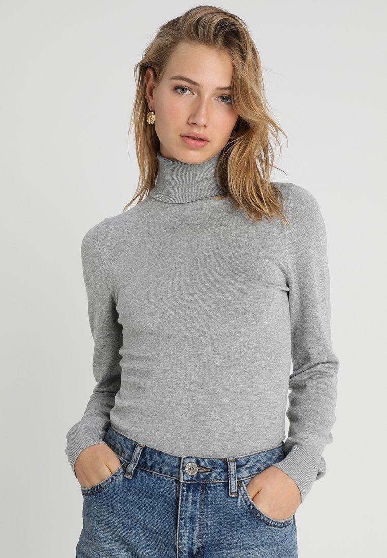 Even&Odd - Strickpullover - mottled grey