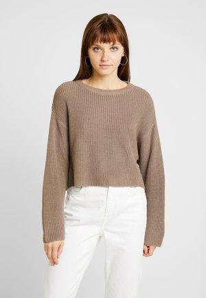 Sweter - light brown