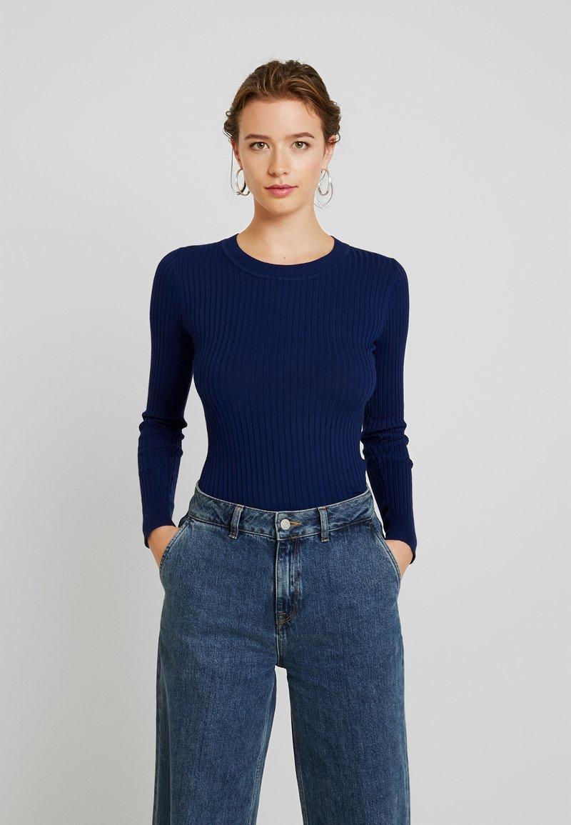 Even&Odd - Strickpullover - dark blue
