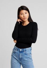 Even&Odd - Pullover - black - 0