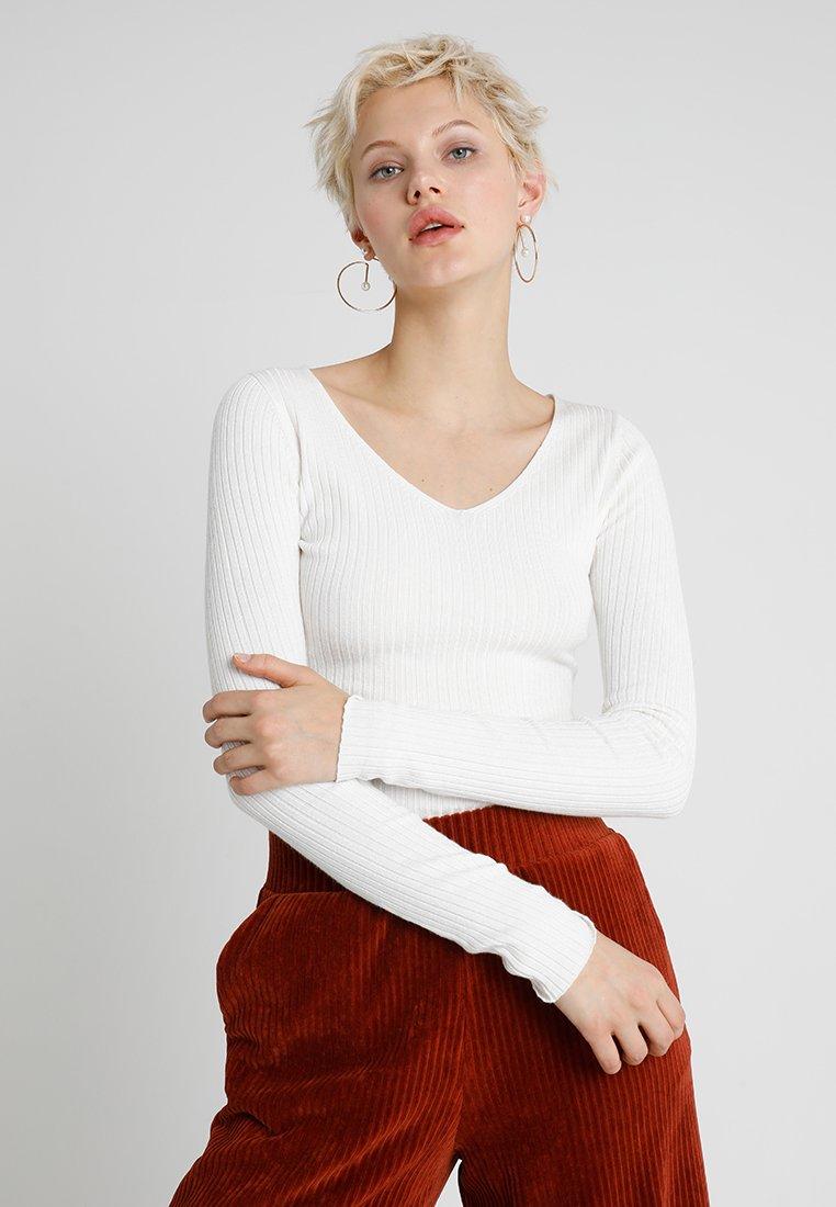 Even&Odd - Strickpullover - white