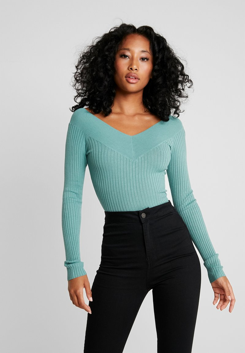 Even&Odd - Strickpullover - turquoise