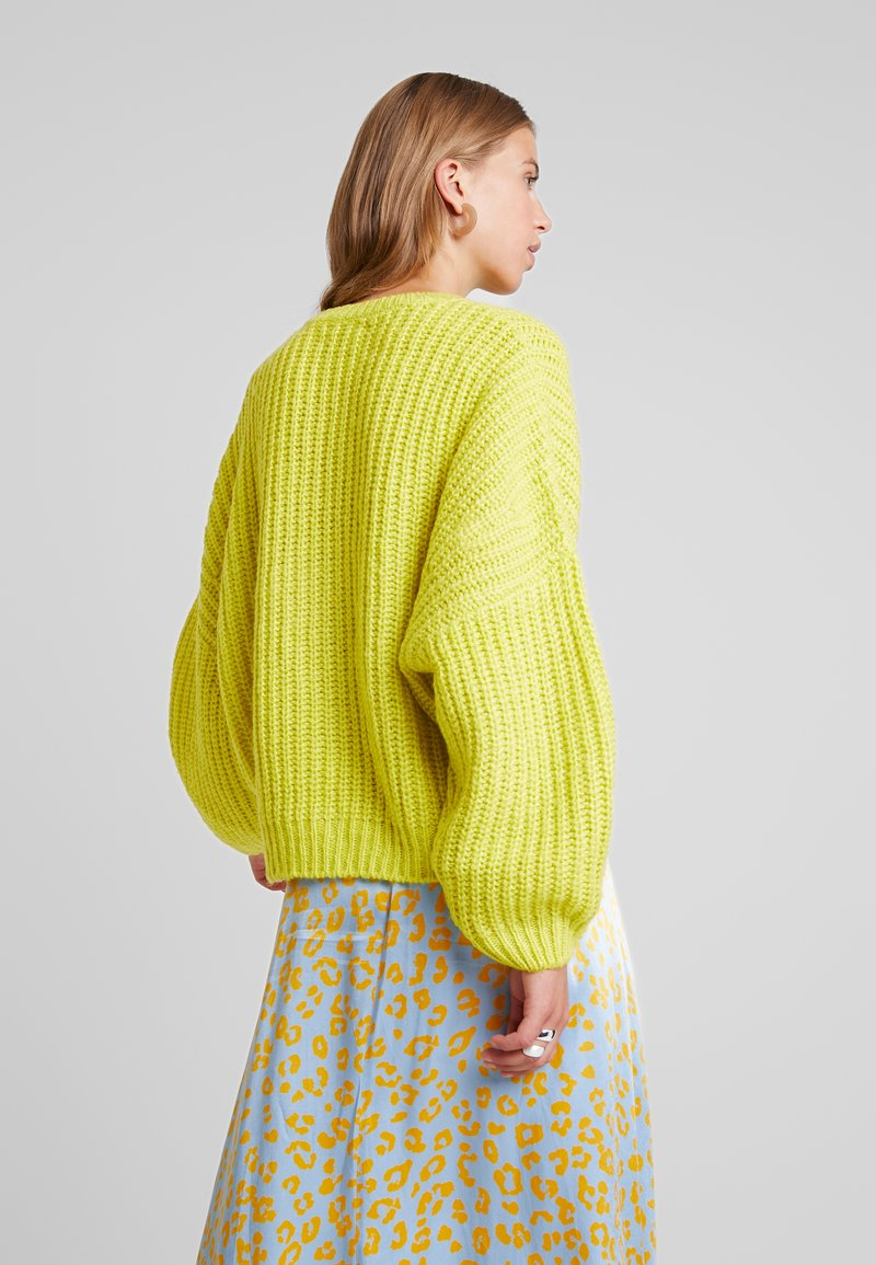 Even&Odd - Strickpullover - lime