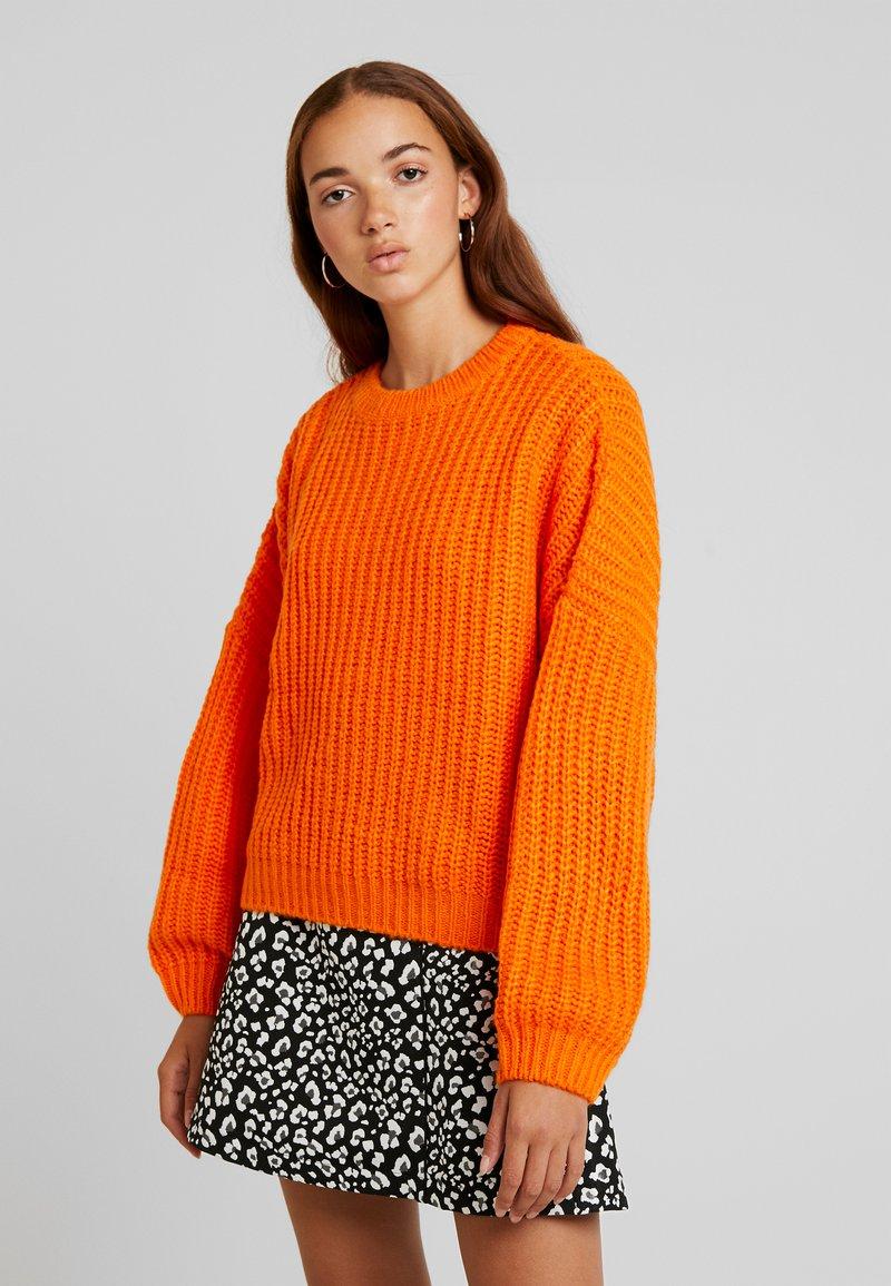 Even&Odd - Strickpullover - orange
