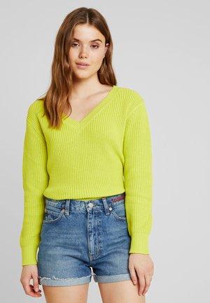 Sweter - lime