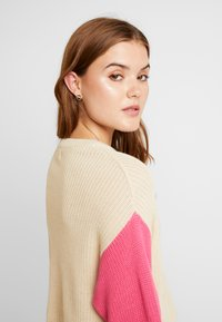 Even&Odd - Pullover - pink/off-white - 3