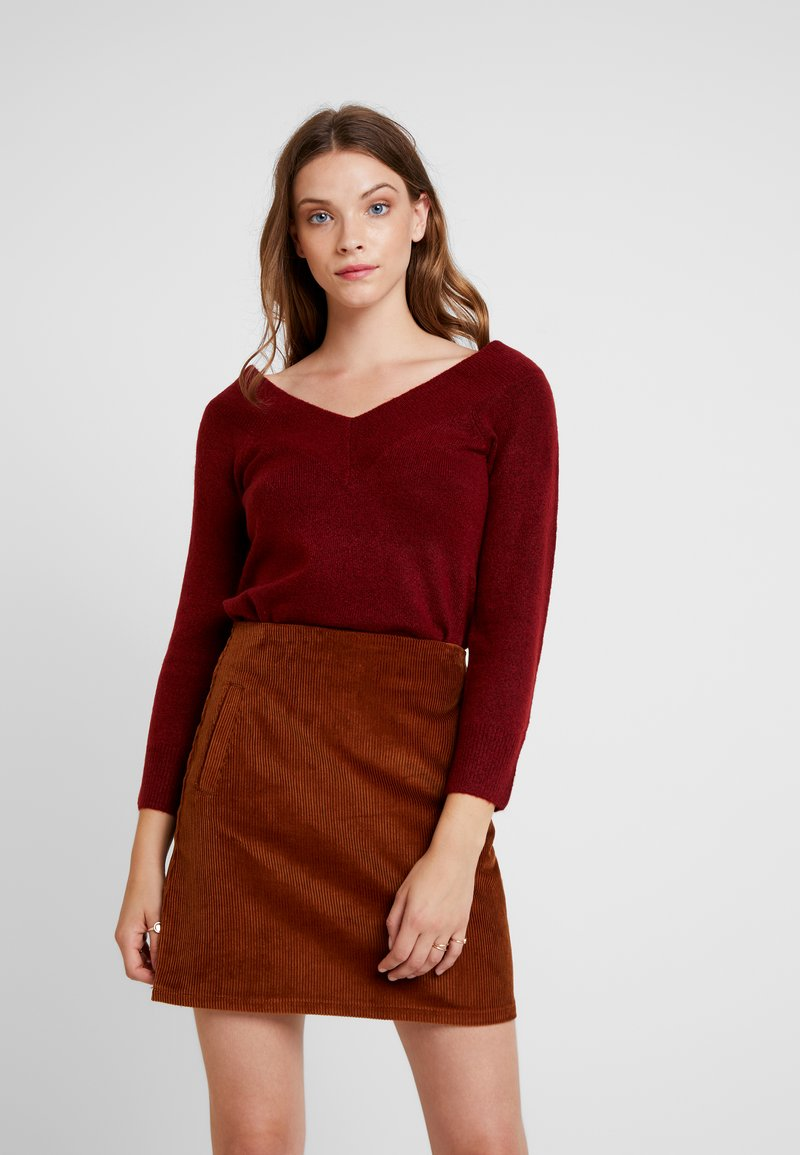 Even&Odd - Pullover - burgundy
