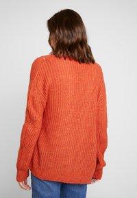 Even&Odd - Vest - orange - 2
