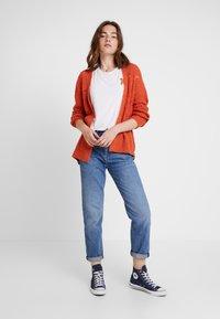 Even&Odd - Vest - orange - 1