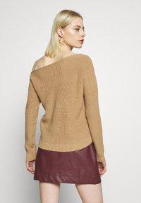 Even&Odd - Stickad tröja - sand - 2