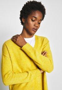 Even&Odd - Gilet - yellow - 3