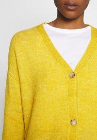 Even&Odd - Gilet - yellow - 5