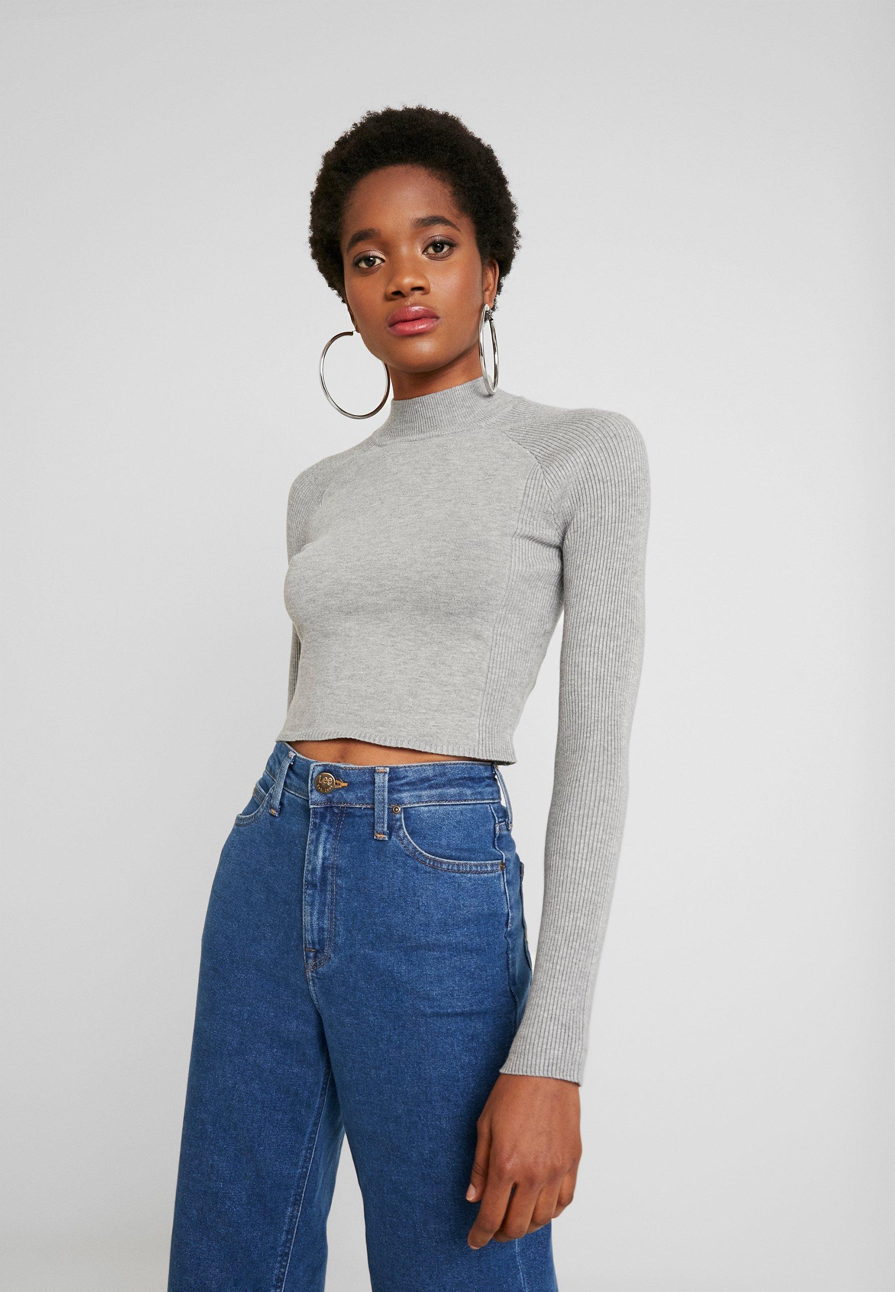 Even&Odd Sweter - light grey