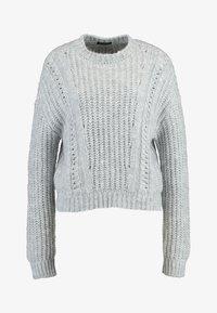 Even&Odd - Sweter - light grey melange - 3