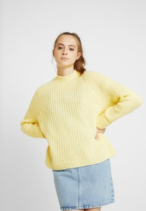 Strikpullover /Striktrøjer - light yellow