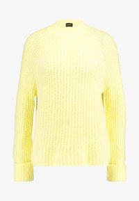 Even&Odd - Strikpullover /Striktrøjer - light yellow - 3