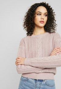 Even&Odd - Sweter - light pink - 4