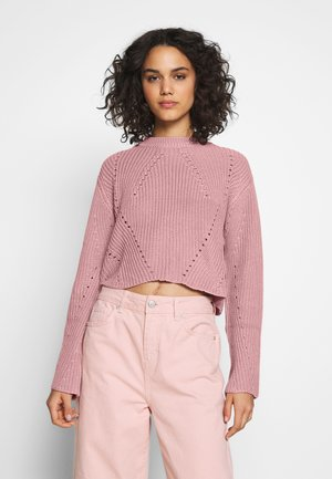 Jumper - pale mauve