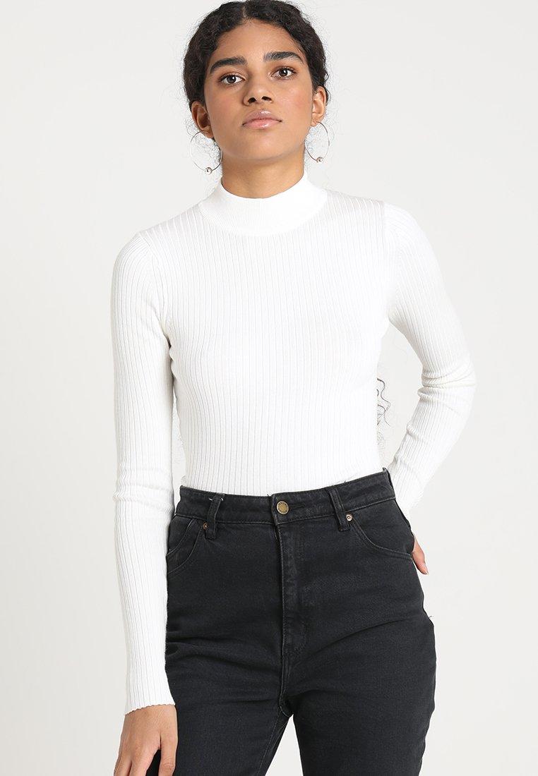 Even&Odd - STRICKPULLOVER BASIC - Jumper - off white