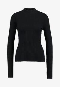 Even&Odd - Stickad tröja - black - 3