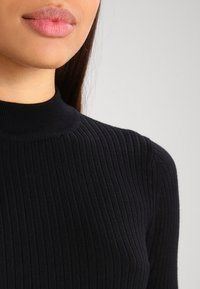 Even&Odd - Stickad tröja - black - 4