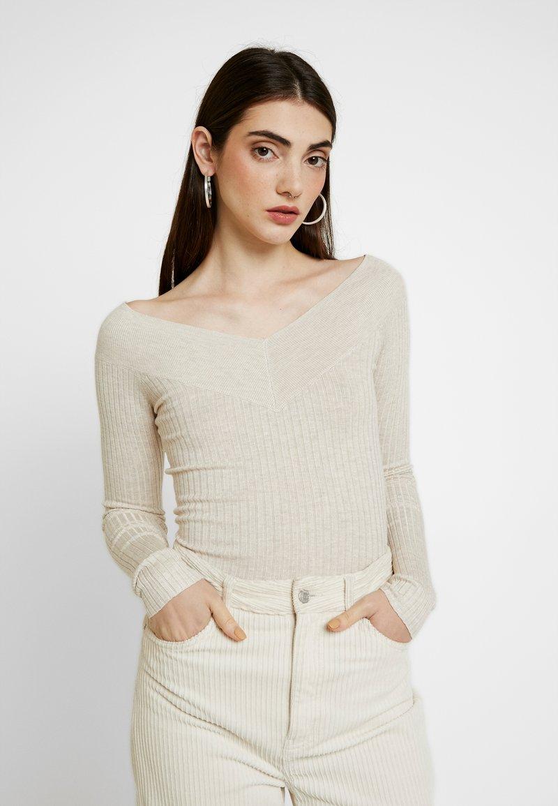 Even&Odd - Pullover - beige melange