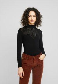 Even&Odd - Sweter - black - 0