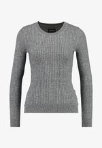 Strikkegenser - grey
