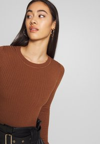 Even&Odd - Trui - light brown - 3