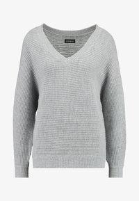 Even&Odd - Trui - mottled grey - 3
