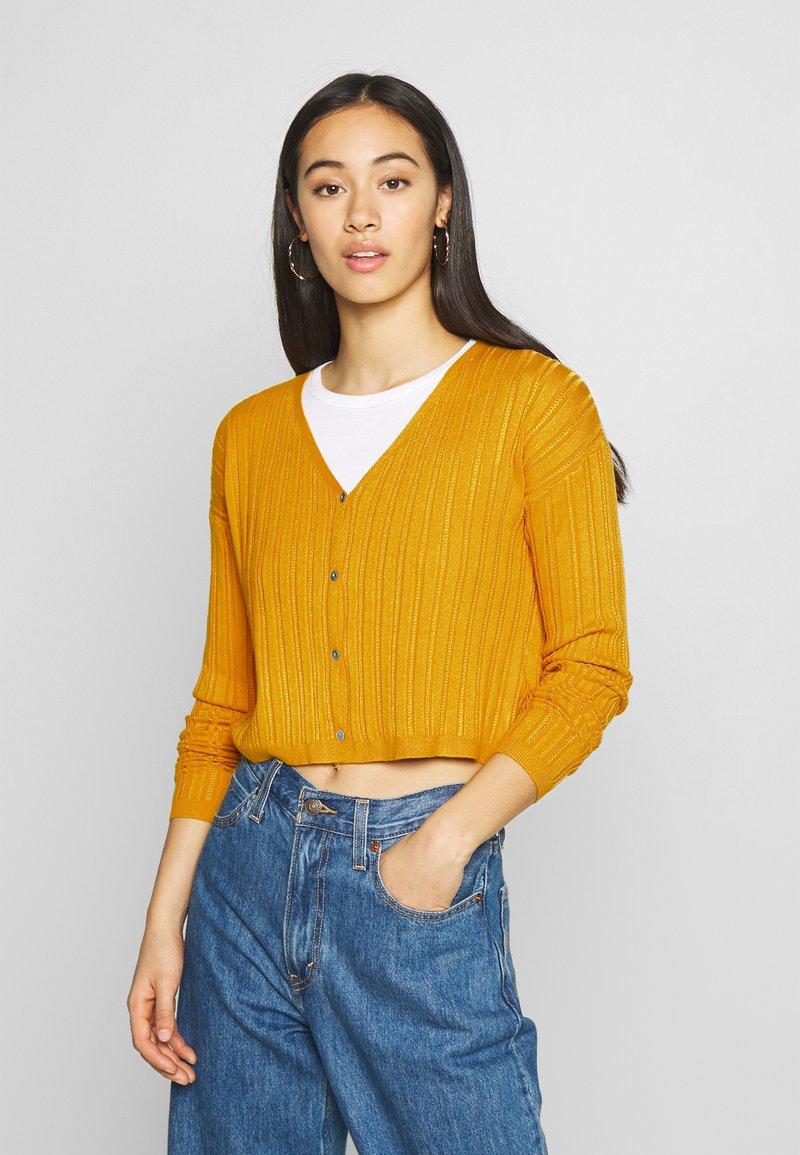 Even&Odd - Cardigan - mustard