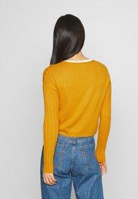 Even&Odd - Cardigan - mustard - 2