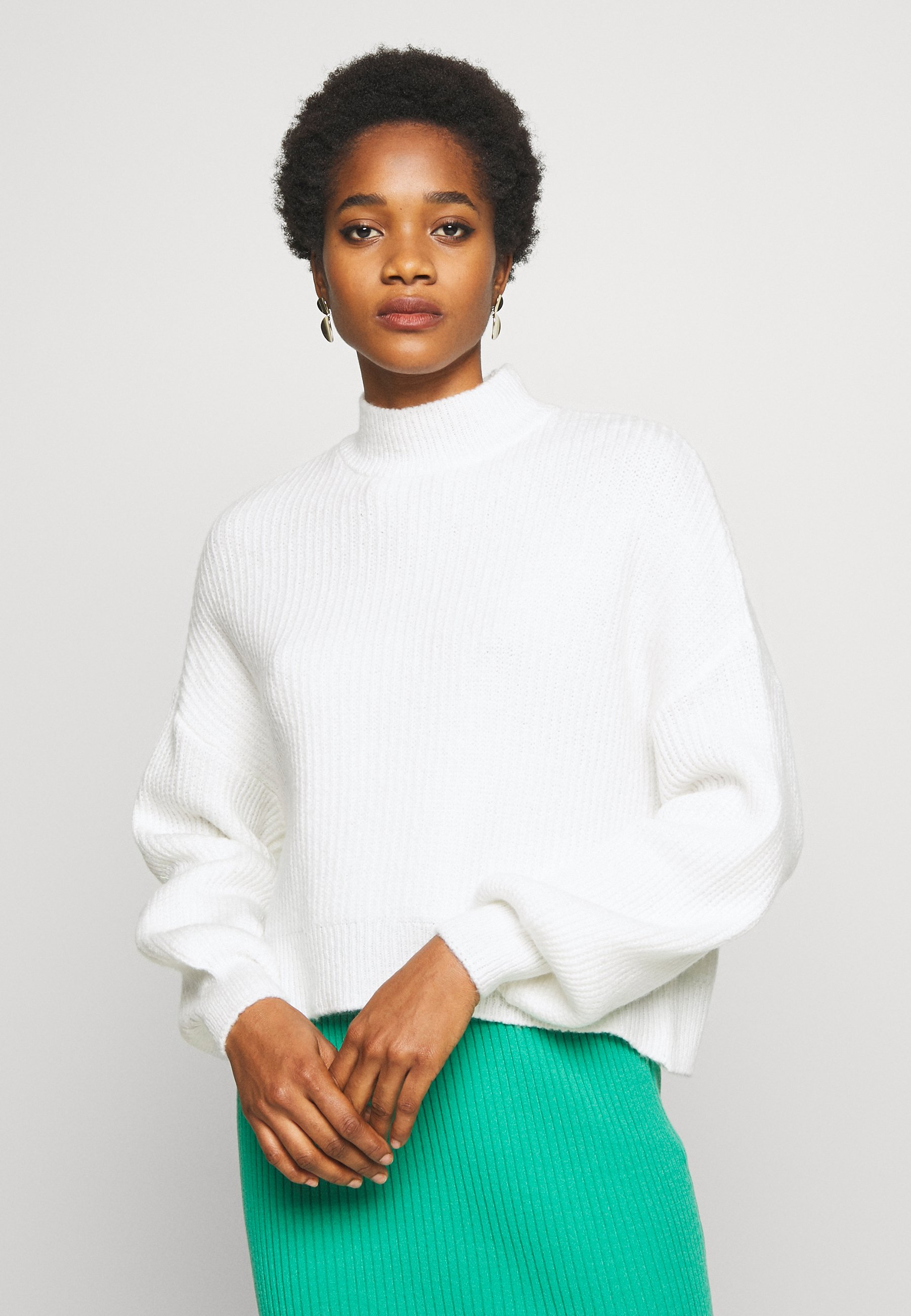 Even&Odd Sweter - white