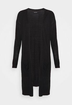 BASIC- long cardigan - Kardigan - black