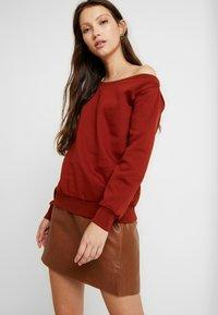 Even&Odd - Sweater - chocolate - 0