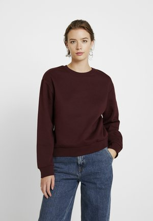 Bluza - burgundy