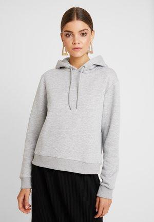 Hoodie - light grey melange