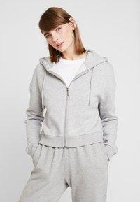 Even&Odd - Sweatshirt - light grey melange - 0
