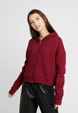 Sweatshirt - burgundy