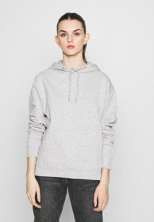 BASIC - Oversize Hoodie - Mikina skapucí - light grey melange
