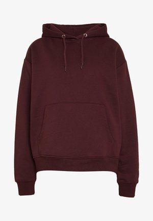 Jersey con capucha - dark red