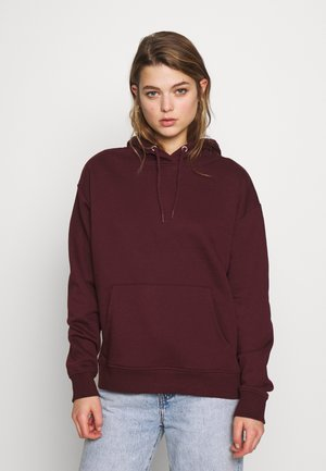 Sweat à capuche - dark red