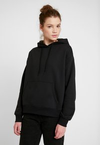 Even&Odd - BASIC - Bluza z kapturem - black - 0