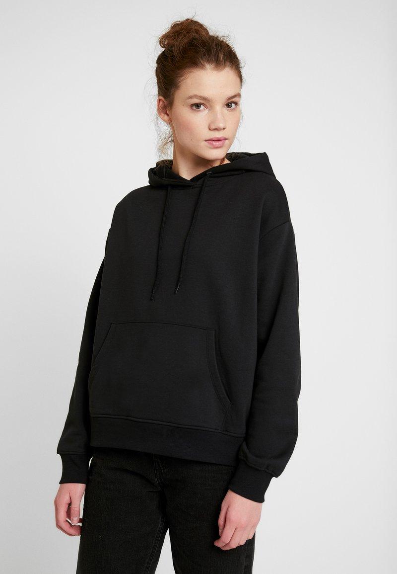 Even&Odd - BASIC - Bluza z kapturem - black