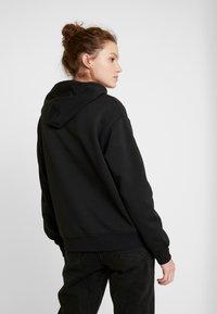 Even&Odd - BASIC - Bluza z kapturem - black - 2