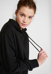 Even&Odd - BASIC - Bluza z kapturem - black - 3